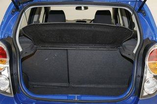 2012 Holden Barina Spark MJ MY12 CD Blue 5 Speed Manual Hatchback