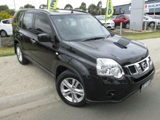 2012 Nissan X-Trail T31 Series V ST Black 1 Speed Constant Variable Wagon.