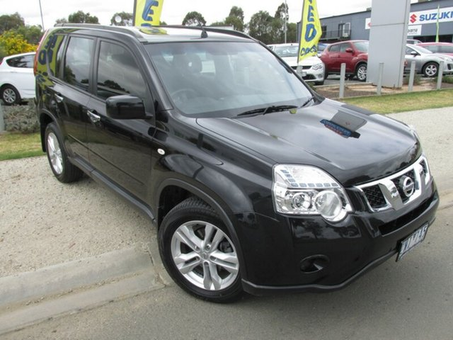 Used Nissan X-Trail T31 Series V ST, 2012 Nissan X-Trail T31 Series V ST Black 1 Speed Constant Variable Wagon