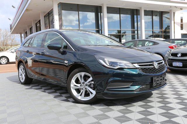 Used Holden Astra BK MY18 LT Sportwagon, 2017 Holden Astra BK MY18 LT Sportwagon Regal Peacock 6 Speed Sports Automatic Wagon