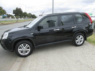 2012 Nissan X-Trail T31 Series V ST Black 1 Speed Constant Variable Wagon