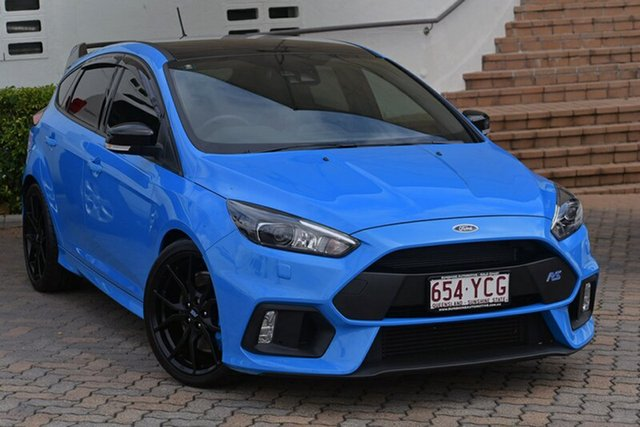 Used Ford Focus LZ RS AWD Limited Edition, 2017 Ford Focus LZ RS AWD Limited Edition Winning Blue 6 Speed Manual Hatchback