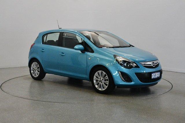 Used Opel Corsa CO Enjoy, 2013 Opel Corsa CO Enjoy Blue 5 Speed Manual Hatchback
