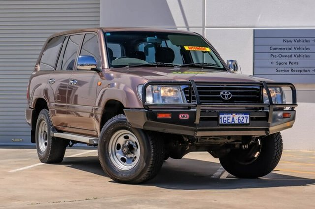 Used Toyota Landcruiser FZJ80R GXL, 1998 Toyota Landcruiser FZJ80R GXL Brown 4 Speed Automatic Wagon