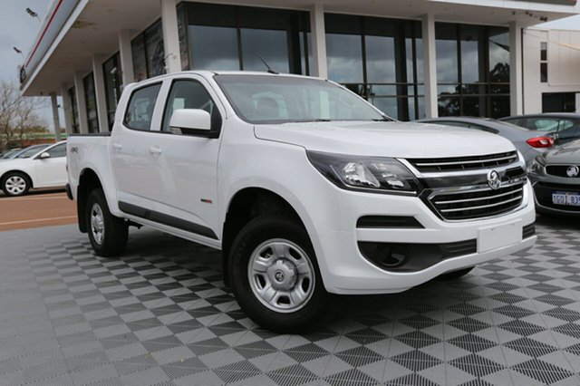 Used Holden Colorado RG MY18 LS Pickup Crew Cab, 2018 Holden Colorado RG MY18 LS Pickup Crew Cab White 6 Speed Manual Utility