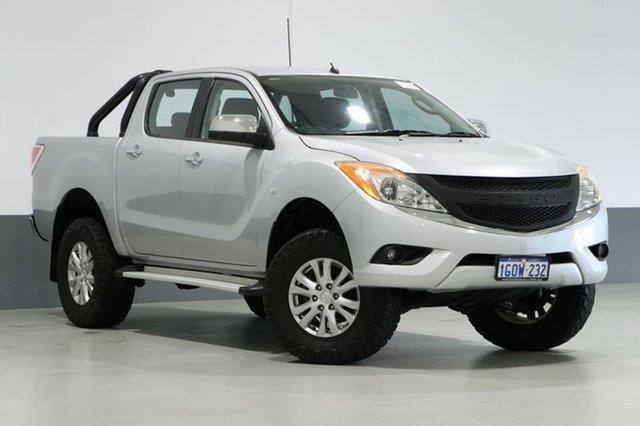 Used Mazda BT-50 MY13 XTR (4x4), 2014 Mazda BT-50 MY13 XTR (4x4) Silver 6 Speed Automatic Dual Cab Utility