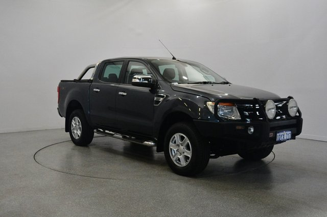 Used Ford Ranger PX XLT Double Cab, 2012 Ford Ranger PX XLT Double Cab Grey 6 Speed Sports Automatic Utility