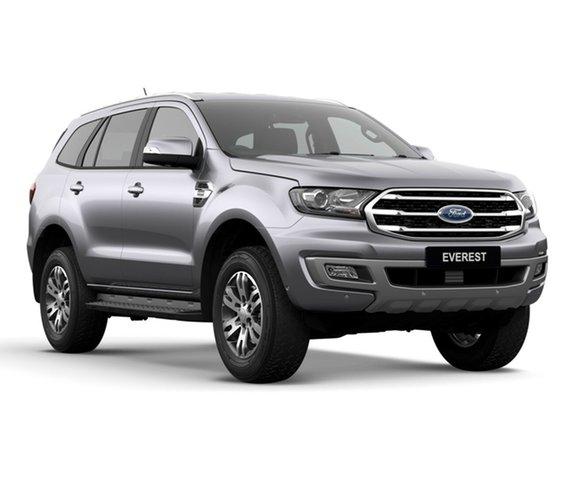 New Ford Everest UA II 2019.00MY Trend 4WD, 2018 Ford Everest UA II 2019.00MY Trend 4WD Aluminium 6 Speed Sports Automatic Wagon