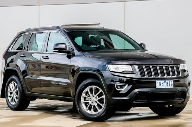Used Jeep Grand Cherokee WK MY15 Laredo, 2014 Jeep Grand Cherokee WK MY15 Laredo Black 8 Speed Sports Automatic Wagon