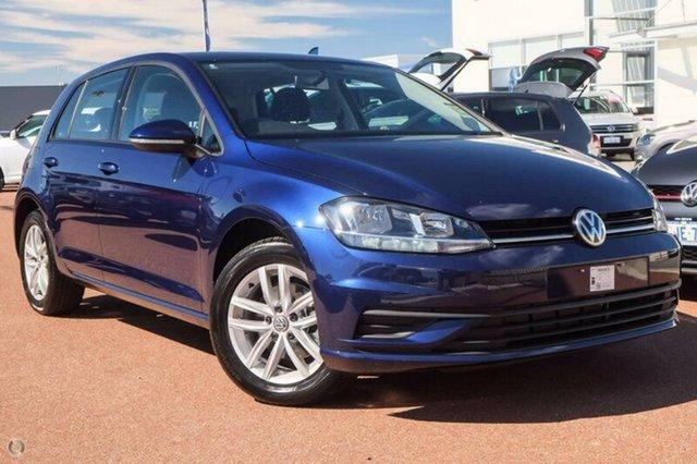 Demo Volkswagen Golf 7.5 MY18 110TSI DSG, 2018 Volkswagen Golf 7.5 MY18 110TSI DSG Blue 7 Speed Sports Automatic Dual Clutch Hatchback