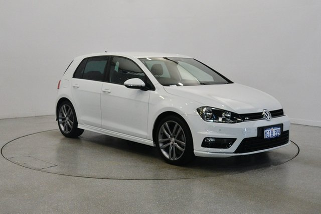 Used Volkswagen Golf 7.5 MY17 110TSI DSG Highline, 2017 Volkswagen Golf 7.5 MY17 110TSI DSG Highline White 7 Speed Sports Automatic Dual Clutch