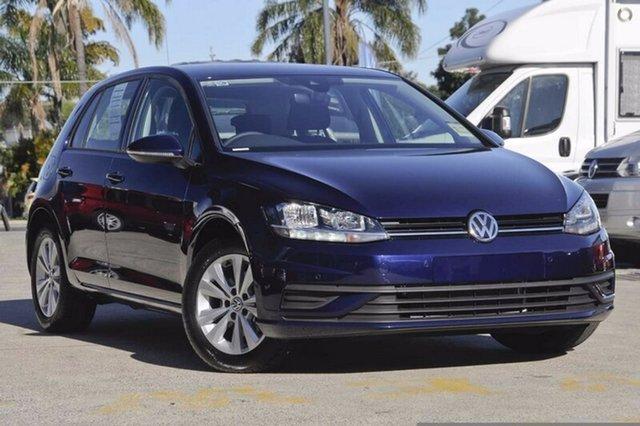 Demo Volkswagen Golf 7.5 MY18 110TSI DSG Trendline, 2018 Volkswagen Golf 7.5 MY18 110TSI DSG Trendline Blue 7 Speed Sports Automatic Dual Clutch