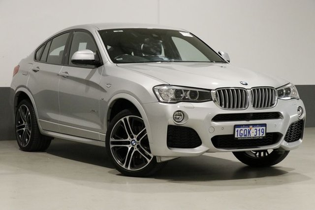 Used BMW X4 F26 MY16 xDrive 35I, 2017 BMW X4 F26 MY16 xDrive 35I Silver 8 Speed Automatic Coupe