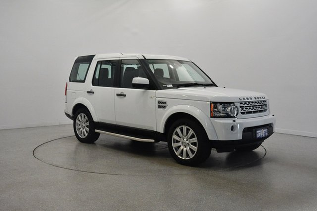 Used Land Rover Discovery 4 Series 4 MY12 SDV6 CommandShift HSE, 2012 Land Rover Discovery 4 Series 4 MY12 SDV6 CommandShift HSE White 6 Speed Sports Automatic Wagon