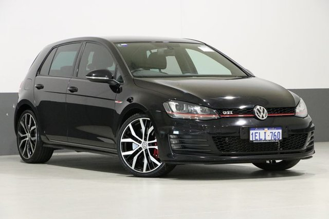 Used Volkswagen Golf AU MY14 GTI Performance, 2014 Volkswagen Golf AU MY14 GTI Performance Black 6 Speed Direct Shift Hatchback