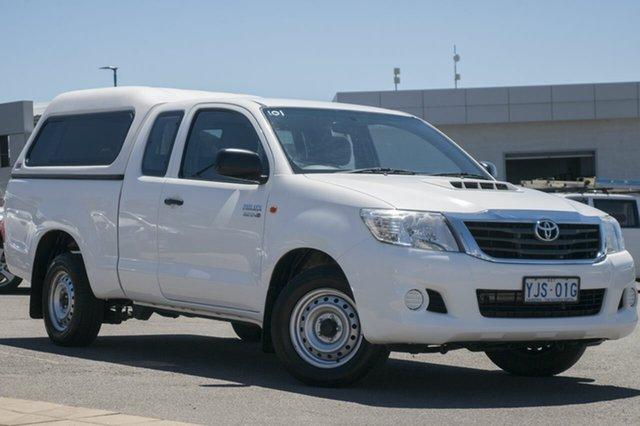 Used Toyota Hilux KUN16R MY12 SR Xtra Cab 4x2, 2013 Toyota Hilux KUN16R MY12 SR Xtra Cab 4x2 White 5 Speed Manual Utility