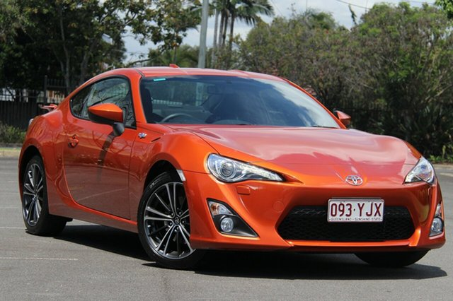 Used Toyota 86 ZN6 GTS, 2013 Toyota 86 ZN6 GTS Orange 6 Speed Manual Coupe