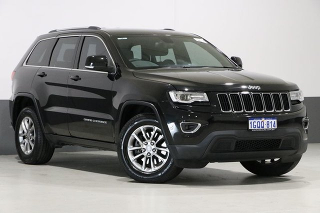 Used Jeep Grand Cherokee WK MY15 Laredo (4x2), 2015 Jeep Grand Cherokee WK MY15 Laredo (4x2) Black 8 Speed Automatic Wagon