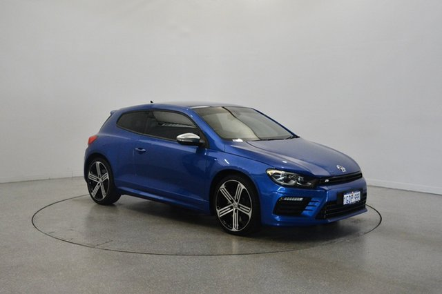 Used Volkswagen Scirocco 1S MY15 R Coupe DSG, 2015 Volkswagen Scirocco 1S MY15 R Coupe DSG Blue 6 Speed Sports Automatic Dual Clutch Hatchback