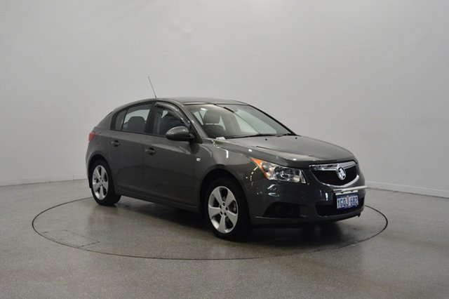 Used Holden Cruze JH Series II MY13 CD, 2013 Holden Cruze JH Series II MY13 CD Grey 6 Speed Sports Automatic Hatchback