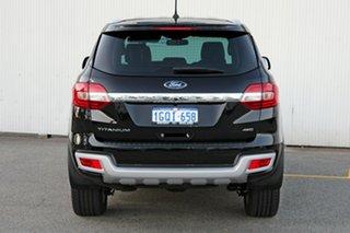 2018 Ford Everest UA 2018.00MY Titanium Black 6 Speed Sports Automatic Wagon