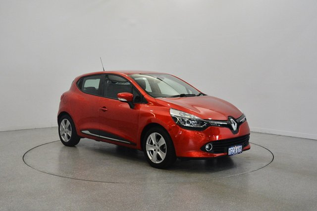 Used Renault Clio IV B98 Expression+ EDC, 2015 Renault Clio IV B98 Expression+ EDC Red 6 Speed Sports Automatic Dual Clutch Hatchback