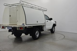2012 Mazda BT-50 UP0YD1 XT 4x2 Hi-Rider White 6 Speed Sports Automatic Cab Chassis.