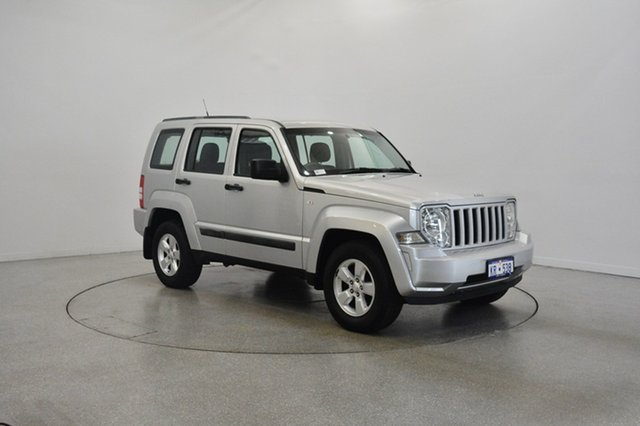 Used Jeep Cherokee KK MY11 Sport, 2011 Jeep Cherokee KK MY11 Sport Silver 4 Speed Automatic Wagon