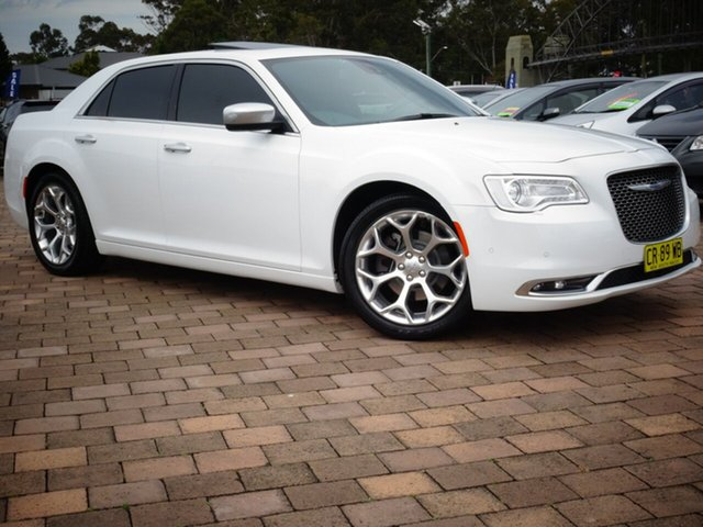 Used Chrysler 300 LX MY18 C Luxury, 2017 Chrysler 300 LX MY18 C Luxury White 8 Speed Sports Automatic Sedan