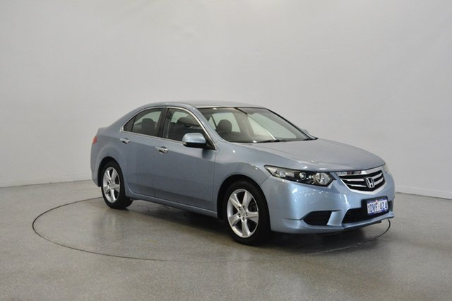 Used Honda Accord Euro CU MY12 , 2012 Honda Accord Euro CU MY12 Blue 5 Speed Automatic Sedan