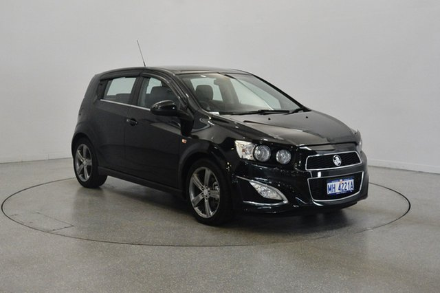 Used Holden Barina TM MY16 RS, 2016 Holden Barina TM MY16 RS Black 6 Speed Sports Automatic Hatchback