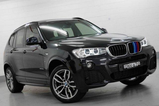 Used BMW X3 F25 LCI xDrive20d Steptronic, 2017 BMW X3 F25 LCI xDrive20d Steptronic Black 8 Speed Automatic Wagon