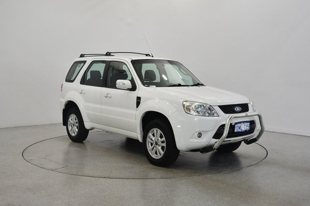 Used Ford Escape ZD , 2010 Ford Escape ZD Diamond White 4 Speed Automatic Wagon
