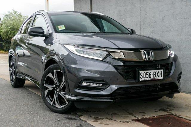 Demo Honda HR-V MY18 RS, 2018 Honda HR-V MY18 RS Modern Steel 1 Speed Constant Variable Hatchback