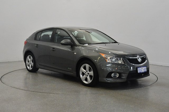 Used Holden Cruze JH Series II MY13 SRi, 2012 Holden Cruze JH Series II MY13 SRi Grey 6 Speed Sports Automatic Hatchback