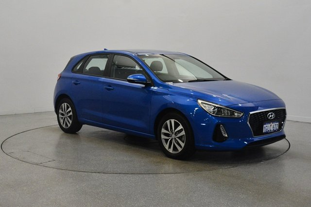Used Hyundai i30 PD MY18 Active, 2017 Hyundai i30 PD MY18 Active Marina Blue 6 Speed Sports Automatic Hatchback