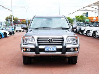 2012 Toyota Landcruiser VDJ200R MY12 Sahara (4x4) Grey 6 Speed Automatic Wagon.