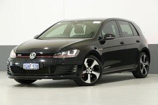 2017 Volkswagen Golf AU MY17 GTi Black 6 Speed Manual Hatchback.