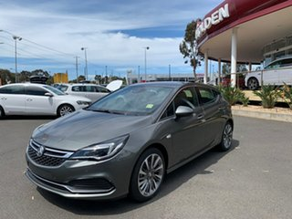 2018 Holden Astra BK MY18.5 RS-V Cosmic Grey 6 Speed Sports Automatic Hatchback.