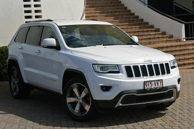 Used Jeep Grand Cherokee WK MY15 Limited, 2014 Jeep Grand Cherokee WK MY15 Limited White 8 Speed Sports Automatic Wagon