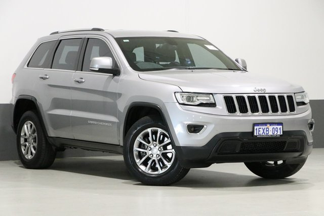 Used Jeep Grand Cherokee WK MY15 Laredo (4x2), 2015 Jeep Grand Cherokee WK MY15 Laredo (4x2) Silver 8 Speed Automatic Wagon