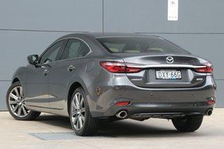 2018 Mazda 6 GL1032 Atenza SKYACTIV-Drive Machine Grey 6 Speed Sports Automatic Sedan.