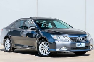 2013 Toyota Aurion GSV50R Presara Graphite 6 Speed Automatic Sedan.