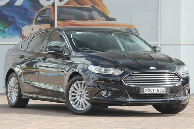 Used Ford Mondeo MD Trend SelectShift, 2016 Ford Mondeo MD Trend SelectShift Shadow Black 6 Speed Sports Automatic Hatchback