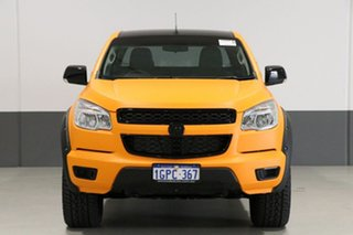 2013 Holden Colorado RG LX (4x4) Orange 6 Speed Automatic Crew Cab Pickup.