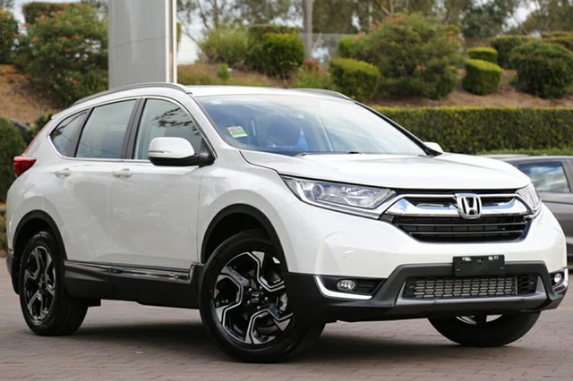 Demo Honda CR-V RW MY18 VTi-L FWD, 2018 Honda CR-V RW MY18 VTi-L FWD White Orchid 1 Speed Constant Variable SUV