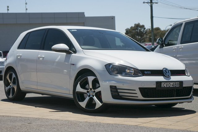 Used Volkswagen Golf VII MY14 GTi, 2014 Volkswagen Golf VII MY14 GTi White 6 Speed Manual Hatchback