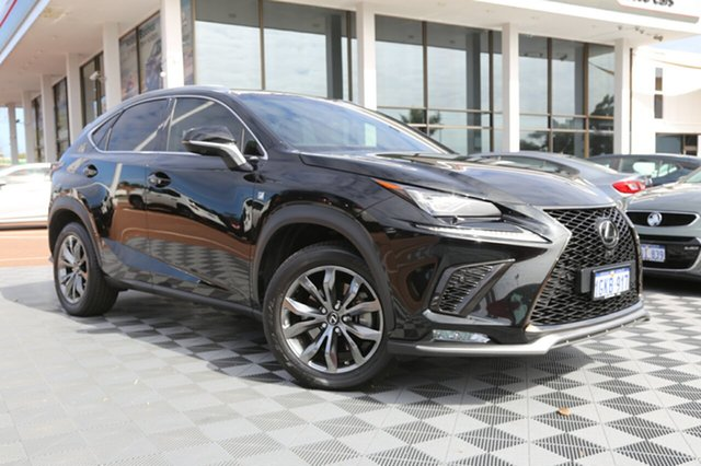 Used Lexus NX AGZ15R NX300 AWD F Sport, 2017 Lexus NX AGZ15R NX300 AWD F Sport Black 6 Speed Sports Automatic Wagon