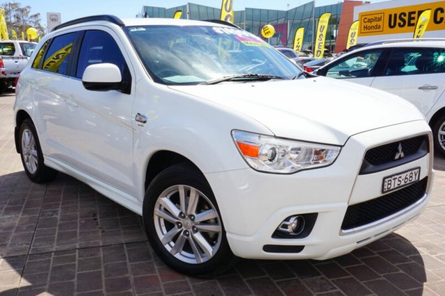 Used Mitsubishi ASX XA MY11 Aspire, 2010 Mitsubishi ASX XA MY11 Aspire White 6 Speed Manual Wagon