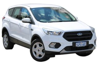 2018 Ford Escape ZG 2018.00MY Ambiente 2WD Frozen White 6 Speed Sports Automatic Wagon.